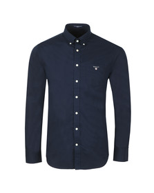 Gant Mens Blue Broadcloth Shirt