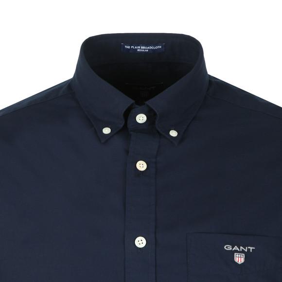 Gant Mens Blue Broadcloth Shirt main image