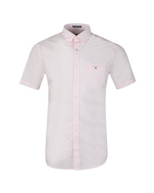 Gant Mens Pink S/S Broadcloth Banker Shirt