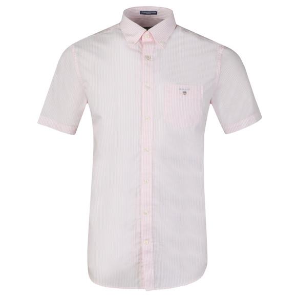 Gant Mens Pink S/S Broadcloth Banker Shirt main image