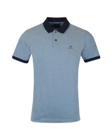 Gant Mens Blue S/S Oxford Rugger