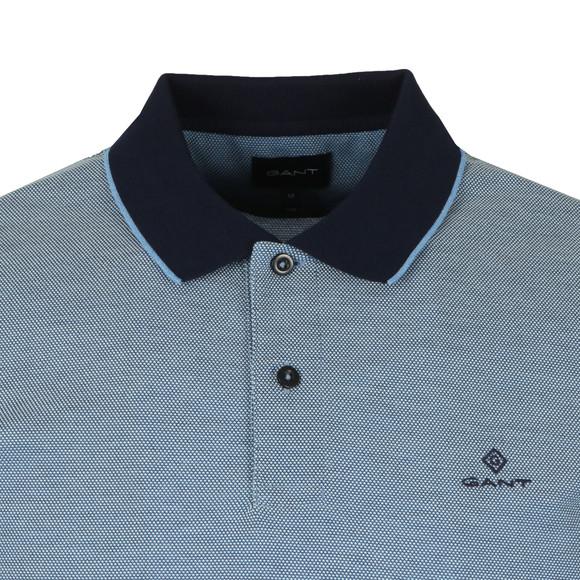 Gant Mens Blue S/S Oxford Rugger main image