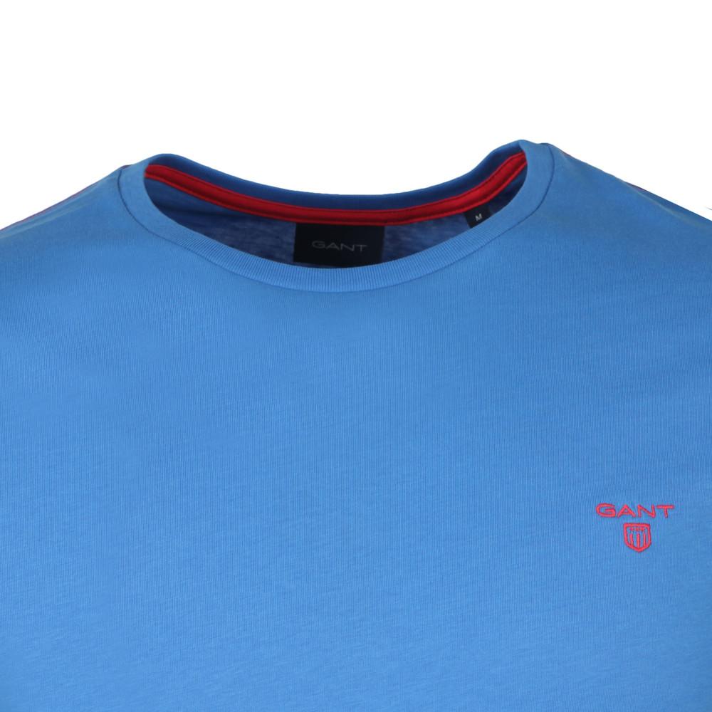 S/S Contrast Logo Tee main image
