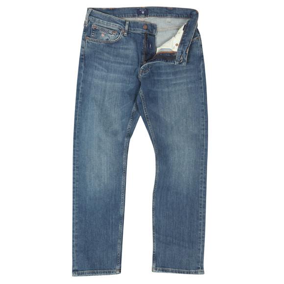 Gant Mens Blue Regular Straight Jean main image