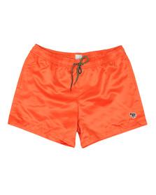 PS Paul Smith Mens Orange Zebra Swim Short