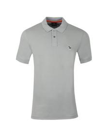 PS Paul Smith Mens Grey Zebra Polo Shirt