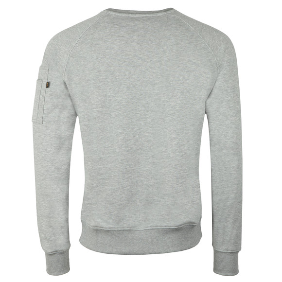 Alpha Industries Mens Grey X Fit Sweatshirt main image