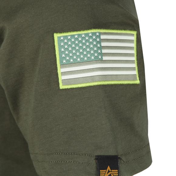 Alpha Industries Mens Green Space Shuttle T Shirt