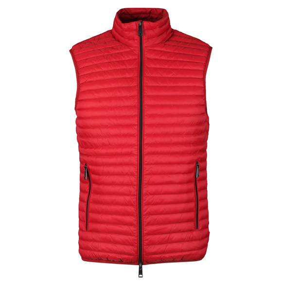 Emporio Armani Mens Red Down Gilet main image