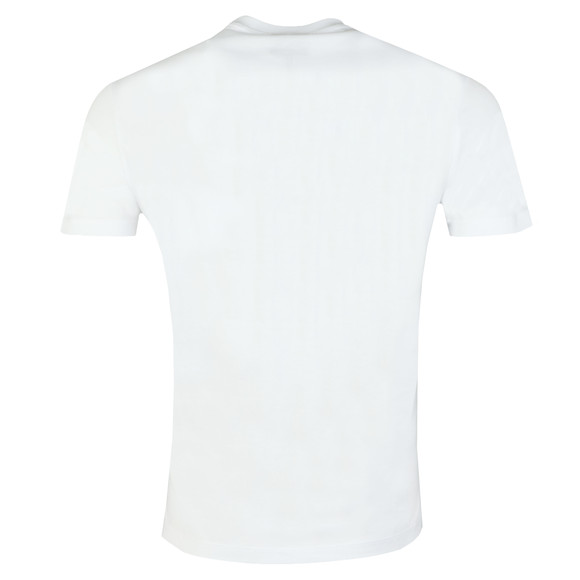 Emporio Armani Mens White Strip Logo T Shirt main image