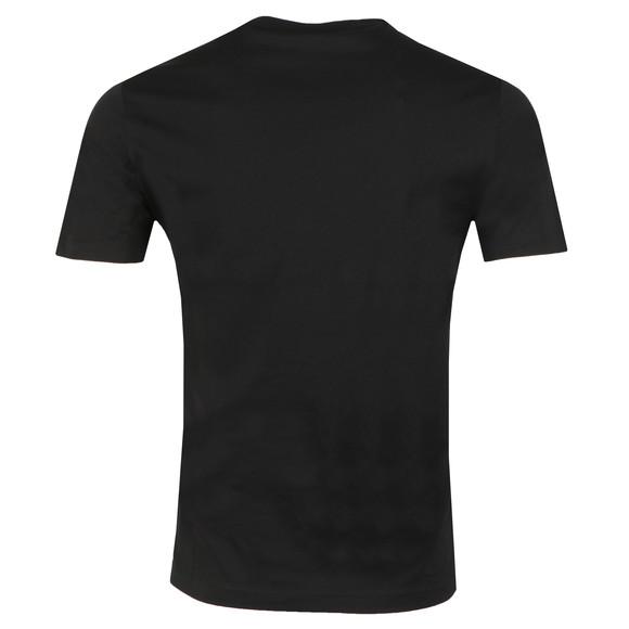 Emporio Armani Mens Black Signature T Shirt main image
