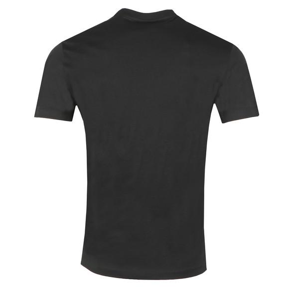 Emporio Armani Mens Black Strip Logo T Shirt main image