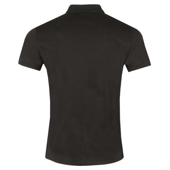 Emporio Armani Mens Black Jersey Polo Shirt main image