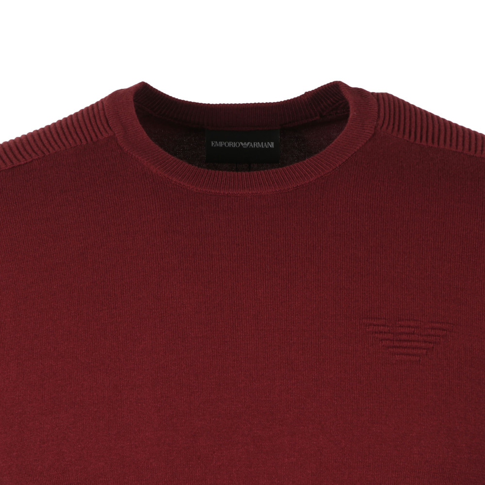 Embossed Logo Crew Jumper main image