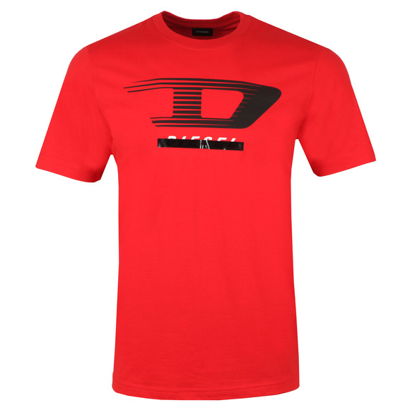 Diesel Mens Red T-Just Y4 T Shirt main image