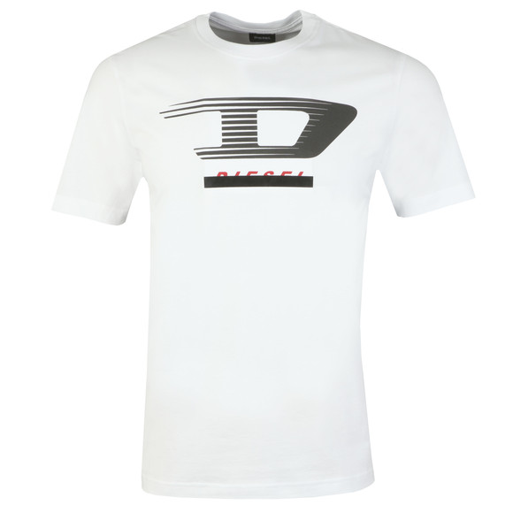 Diesel Mens White T-Just Y4 T Shirt main image