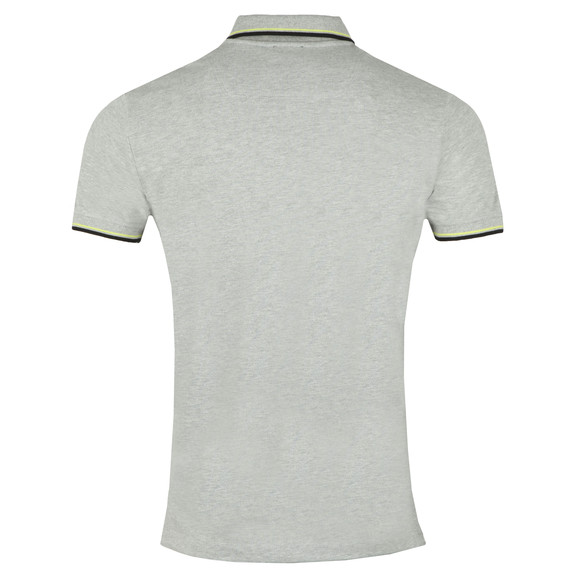 Diesel Mens Grey Randy Broken Polo Shirt main image