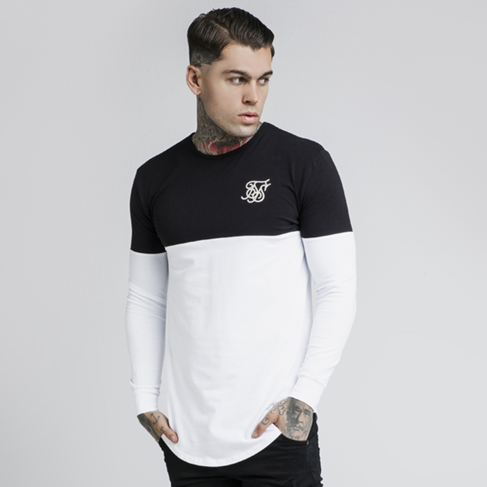Cut and Sew LS Gym Tee main image