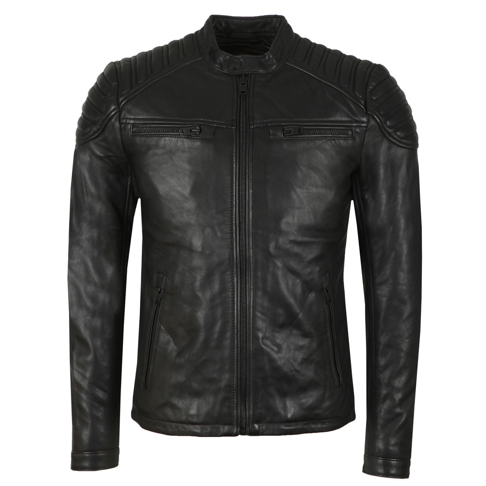 d854394c3 Superdry New Hero Leather Jacket