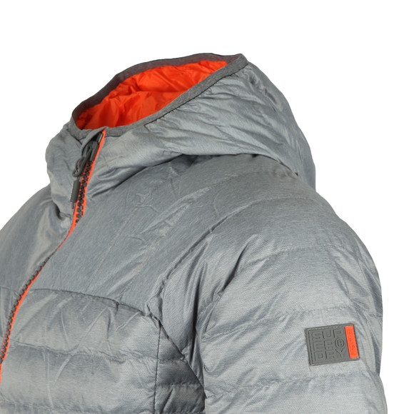 Superdry Mens Grey Chromatic Core Down Jacket main image