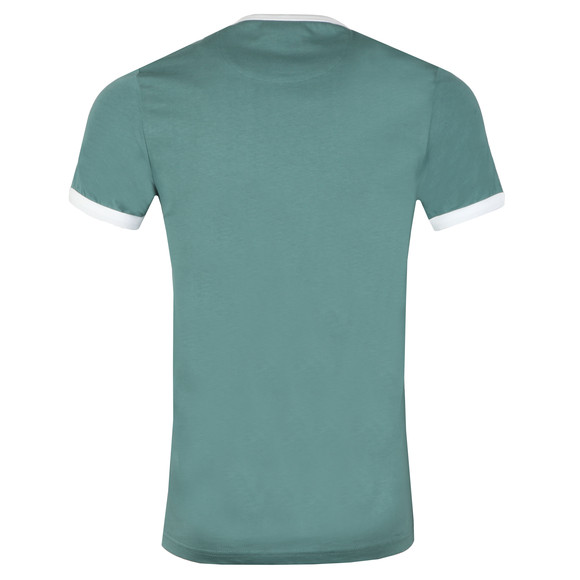 Farah Mens Green Groves Ringer Tee main image