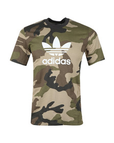 adidas Originals Mens Multicoloured Trefoil Tee