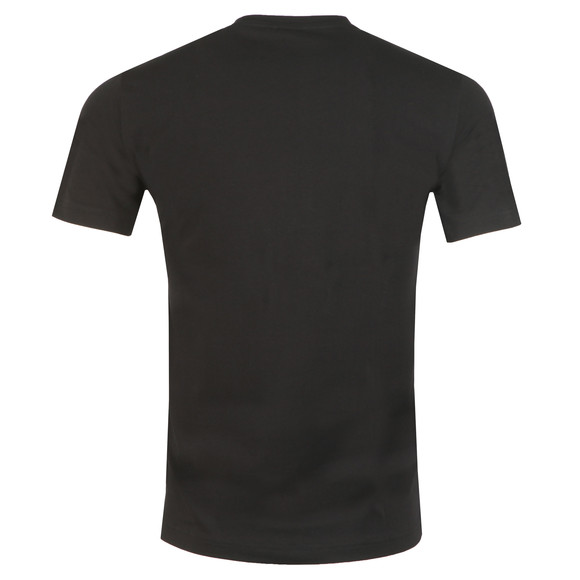 EA7 Emporio Armani Mens Black Large Logo Crew T Shirt main image