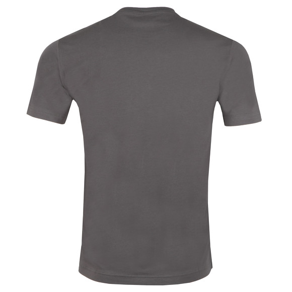 EA7 Emporio Armani Mens Grey Large Rubber Logo T Shirt main image