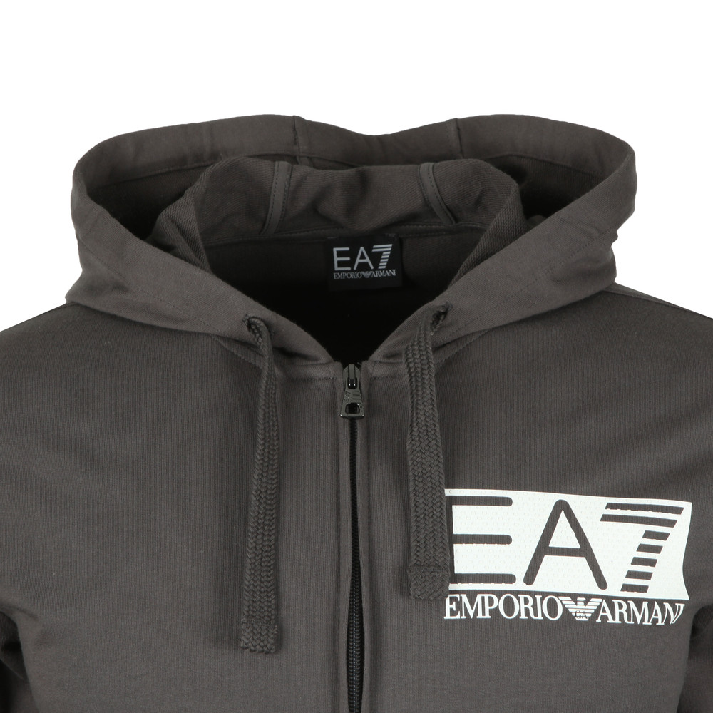 Rubber Logo Full Zip Hooded Tracksuit main image