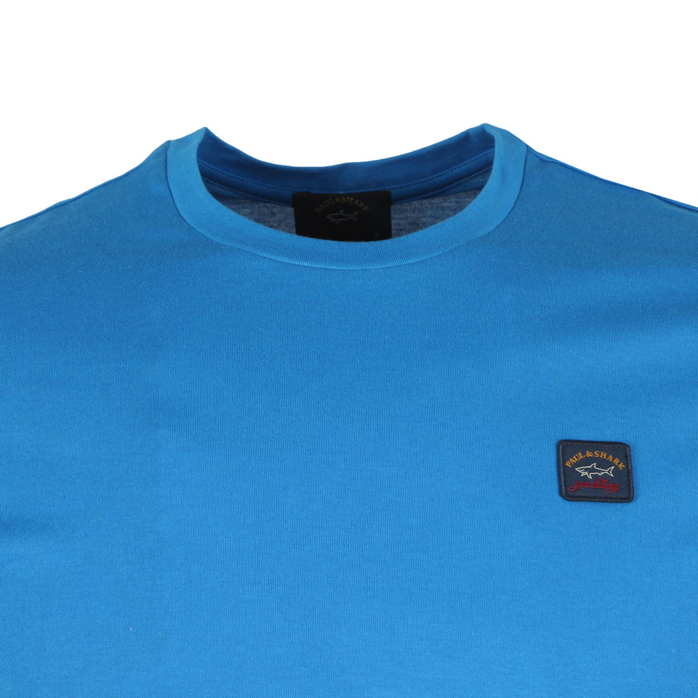 Chest Badge Plain T Shirt main image