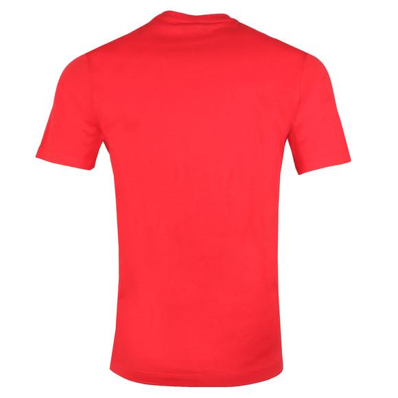 Paul & Shark Mens Red Large Logo Tonal T Shirt main image