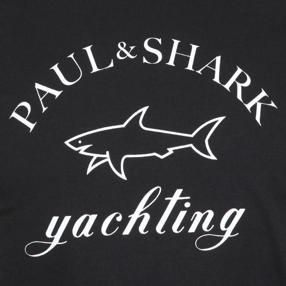 Paul & Shark Mens Black Large Logo T Shirt main image