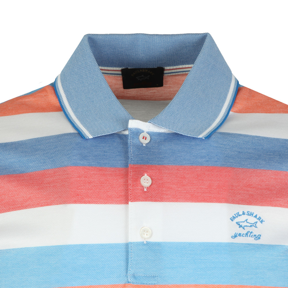Double Mercerized Stripe Polo Shirt main image
