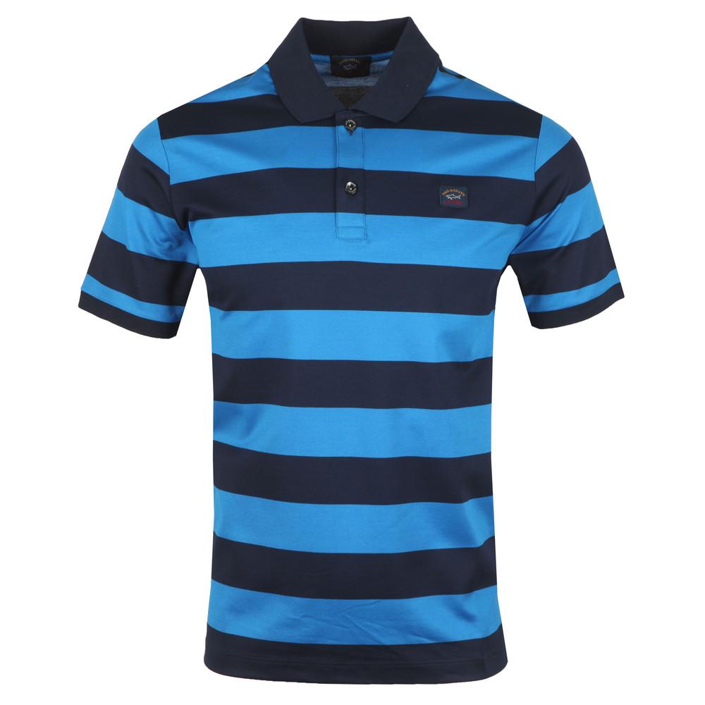 Block Stripe Polo Shirt main image