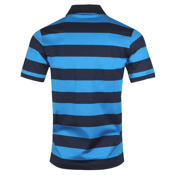 Paul & Shark Mens Blue Block Stripe Polo Shirt main image