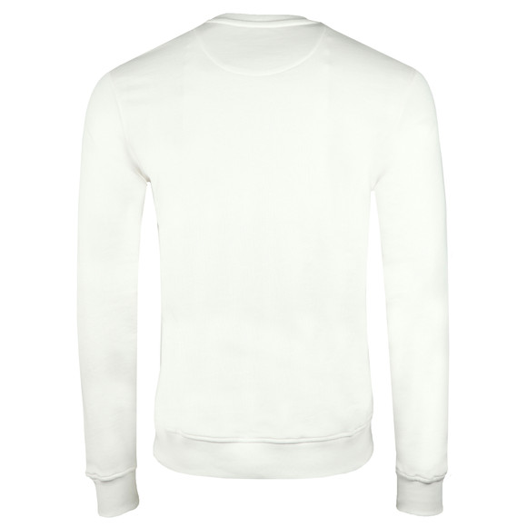 Lyle and Scott Mens Off-White Crew Neck Sweat main image