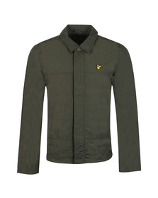 Lyle and Scott Mens Green Coach Jacket