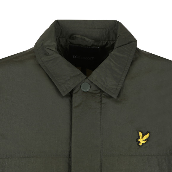 Lyle and Scott Mens Green Coach Jacket main image