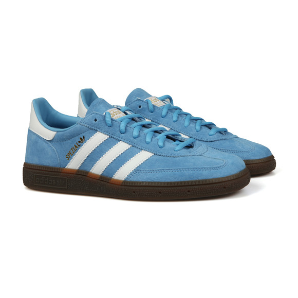 adidas Originals Mens Blue Handball Spezial Trainers main image