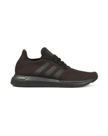 adidas Originals Mens Black Swift Run Trainer