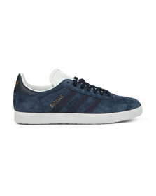 adidas Originals Womens Blue Gazelle W Stitch Trainer
