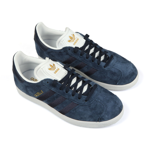 adidas Originals Womens Blue Gazelle W Stitch Trainer main image