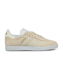 adidas Originals Womens Off-White Gazelle W Stitch Trainer