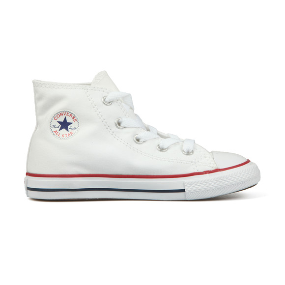 Converse Unisex White Kids All Star Hi main image