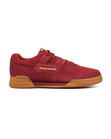Reebok Classic Mens Red Workout Plus MU Trainer