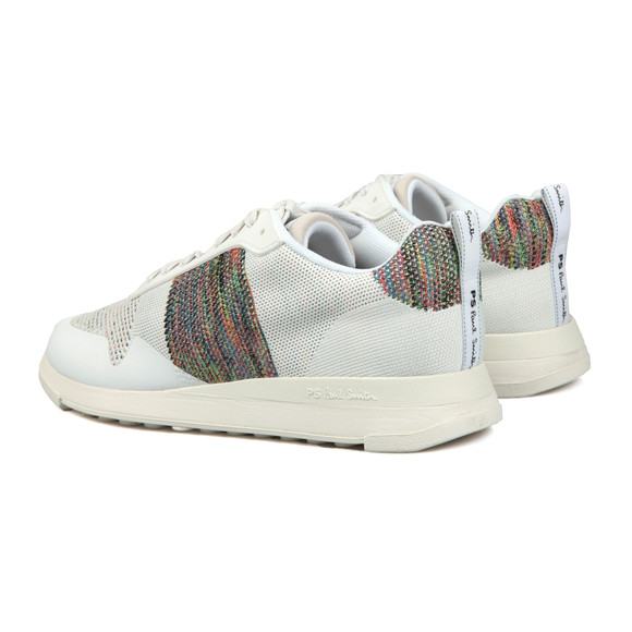 PS Paul Smith Mens White Rappid Knitted Trainer main image