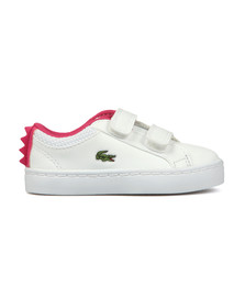 Lacoste Girls White Girls Straightset 119 Trainer