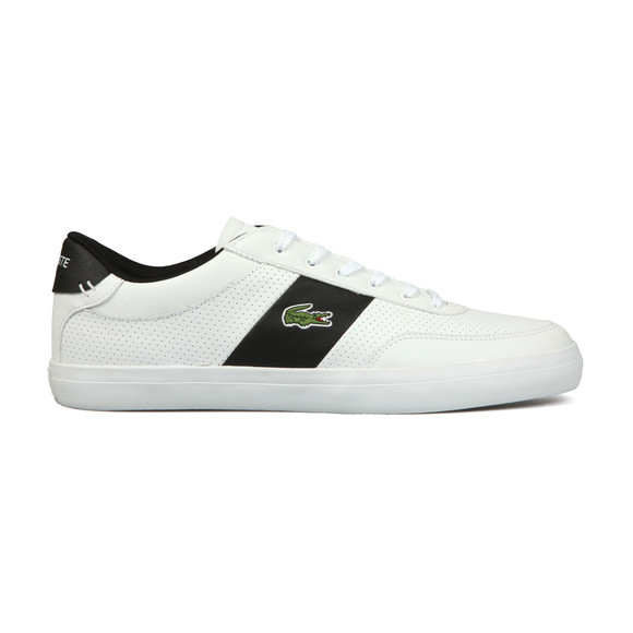 Lacoste Mens White Court Master Leather Trainer main image