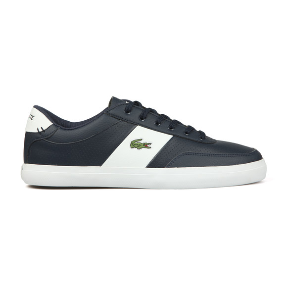 Lacoste Mens Blue Court Master Leather Trainer main image