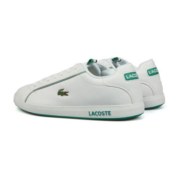 Lacoste Sport Mens White Graduate 119 SMA Trainer main image